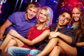 Young clubbers — Stock Photo