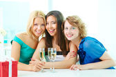 Girl party — Stock Photo