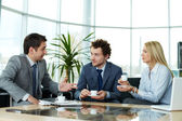 Business communication — Stock Photo