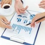财务分析 — 图库照片