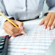 Stock Photo: Accounting notes