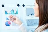 Resultaten analyseren — Stockfoto