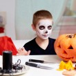 Halloween boy — Stock Photo