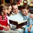 Family reading — Stock Photo #16042613