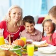 Thanksgiving joy - Stock Photo