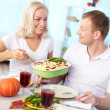 Having feast — Stock Photo