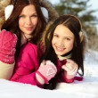 Girls in winter — Stock Photo #16042873