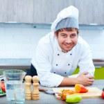 Happy chef — Stock Photo #16048455
