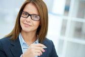 Smart businesswoman — Stock Photo
