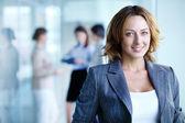 Encantadora mulher de negócios — Foto Stock