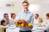 Slavnostní jídlo — Stock fotografie