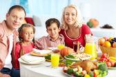 Thanksgiving stemming — Stockfoto