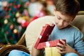 Noel arifesinde — Foto de Stock