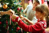 χριστούγεννα προετοιμασίες — Φωτογραφία Αρχείου