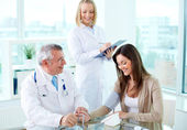Practitioners at work — Stock Photo