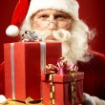 Generous Santa — Stock Photo #16052285