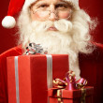 Generous Santa — Stock Photo #16052335