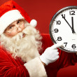 Foto Stock: Five minutes to Christmas