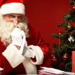 Choosing xmas letter — Stock Photo #16052765