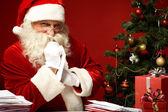 Wahl weihnachten brief — Stockfoto