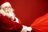 Santa kommt — Stockfoto