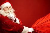 Santa přijde — Stock fotografie