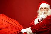 Santa kommer — Stockfoto