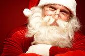 Glad santa — Stockfoto
