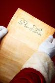 Carta ao pai natal — Foto Stock