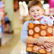 Stock Photo: Child with gift