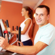 Gym training — Stock Photo #16176053