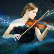 Magic music — Stock Photo #16177175