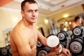 Weightlifter — Stock Photo