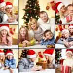 Family on Christmas — Stock Photo #17139981