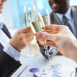 Royalty-Free Stock Photo: Toast for success