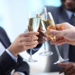 Stock Photo: Toast for success