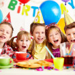 Kids at birthday party — Stock Photo #17138943