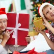 Kids with gifts — Stock Photo #17139035