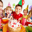 Birthday fun — Stock Photo