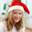 Santa girl — Stock Photo #17139329