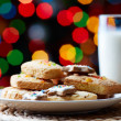 Cookies and milk - Foto de Stock