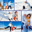 Stock Photo: Winter recreation