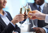 Toast for success — Foto Stock