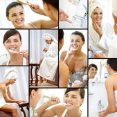 Beauty and hygiene — Stock Photo