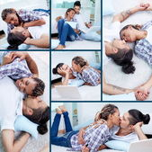 Happy lovers — Stockfoto
