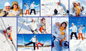 Winter recreation — Stock Photo