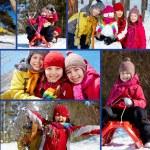 Winter fun — Stock Photo #17140001