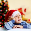 Christmas thoughts - Stock Photo