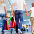 Family shopping — Stock Photo #17142129