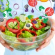 Fresh salad — Stock Photo #17143149